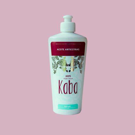 Aceite antiestrias de kaba