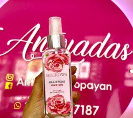 agua de rosas belgrows 130 ml
