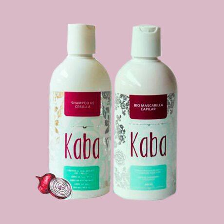 shampoo de cebolla + biomascarilla