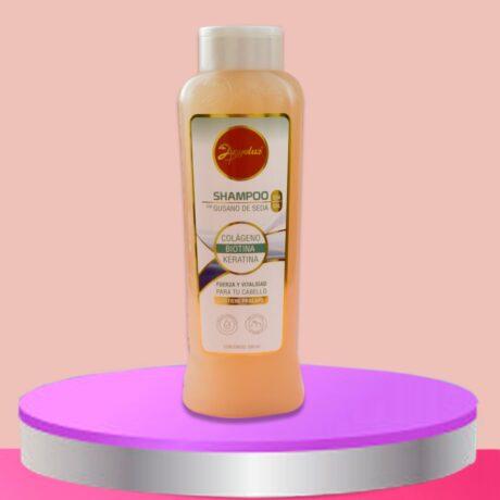 shampoo gusano de seda